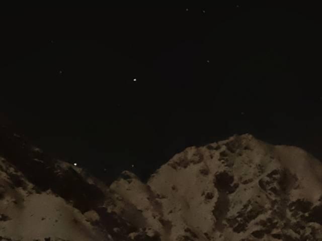 Skilift am Berg Zeiger im Skigebiet Sölden